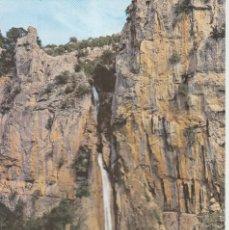 Postales: POSTAL SIERRA DE CAZORLA (JAÉN). CASCADA DE LINAREJOS.. Lote 205581125