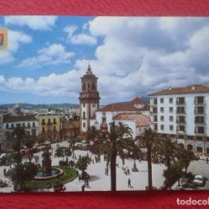 Postales: POST CARD Nº 176 ALGECIRAS CÁDIZ PLAZA DEL GENERALÍSIMO PLACE SQUARE COCHES DE ÉPOCA...PALMERAS..VER. Lote 205700050