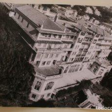 Postales: ANTIGUA FOTOGRAFIA VISTA EN BLANCO Y NEGRO DEL ANTIGUO HOTEL MIRAMAR EN MALAGA – FORMATO 24 X 18 CM. Lote 205831951