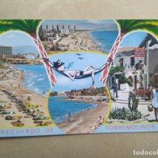 Postales: POSTAL RECUERDO DE TORREMOLINOS. Lote 205840203
