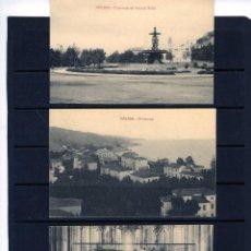Postales: TRES POSTALES DE MALAGA-EDICIÓN FIN DE SIGLO-VER FOTOS ADICIONALES DEL REVERSO .. Lote 206315590