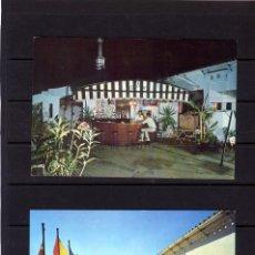 Postales: DOS POSTALES DE MALAGA-PUBLICITARIA=HOSTAL EL PEÑON-CALLE MARQUES DE LARIOS Nº4-NUEVAS SIN CIRCULAR.. Lote 206424402