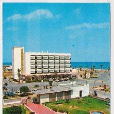 Postales: EDIFICIO ROQUEMAR, ROQUETAS DE MAR, ALMERIA. ED ARRIBAS 1974. CIRCULADA CON SELLO. Lote 206524211