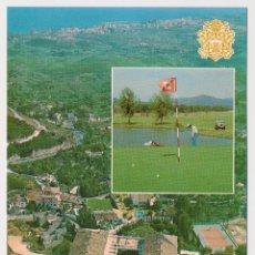 Postales: VISTA AEREA, HOTEL MIJAS, MIJAS (MÁLAGA) ED GERICOLOR 1980. SIN CIRCULAR.. Lote 206525621