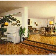 Postales: SALÓN BAR INGLÉS, HOTEL MIJAS, MIJAS (MÁLAGA) ED GERICOLOR 1980. SIN CIRCULAR.. Lote 206525878