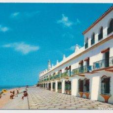 Postales: VISTA EXTERIOR, HOTEL PLAYA DE LA LUZ, ROTA (CÁDIZ). ED BEASCOA 1966. CIRCULADA CON SELLO.. Lote 206526423