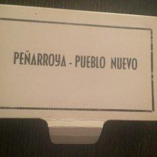 Postales: PEÑARROYA-PUEBLO NUEVO - LIBRITO DE 10 POSTALES - ED. GARCÍA GARRABELLA. Lote 206532536