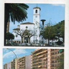 Postales: LOTE DE 2 POSTALES DE FUENGIROLA. Lote 206971441