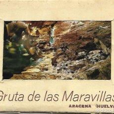 Postales: ARACENA (HUELVA) GRUTA DE LAS MARAVILLAS (8 POSTALES EN LIBRETO). Lote 207232611
