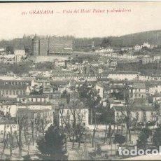 Postales: POSTAL GRANADA VISTA DEL HOTEL PALACE Y ALREDEDORES ED. SUCESOR DE CASSO N° 49. Lote 207236173