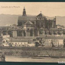 Postales: CÓRDOBA. CONJUNTO DE LA MEZQUITA. ED. A. LEÓN GARRIDO. SIN CIRCULAR.. Lote 207454417