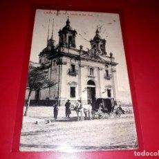 """Postales: CÁDIZ """" PUERTA TIERRA,IGLESIA DE SAN JOSÉ """" ESCRITA Y SELLADA CON SELLO REPÚBLICA. Lote 207708007"""