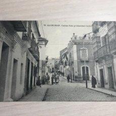 Postales: 38. ALGECIRAS - CALLES PRIN Y CRISTOBAL COLON. Lote 207870401