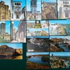 Postales: ARCOS DE LA FRONTERA, LOTE DE 14 POSTALES. Lote 207896031