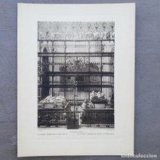 Postales: GRAN FOTOGRAFIA/FOTOTIPIA IMPRESA CATEDRAL GRANADA FOTO OTTO WUNDERLICH. Lote 208180302