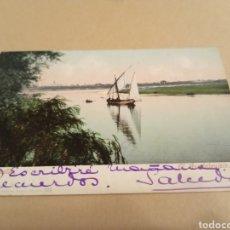 Postales: POSTAL SEVILLA EL GUADALQUIVIR TOMÁS SANZ. Lote 208978205