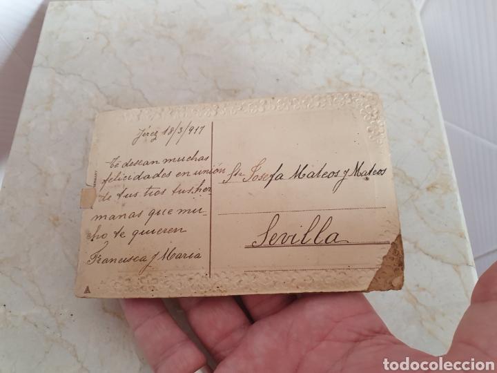 Postales: PRECIOSA POSTAL MADE IN GERMANY FECHADA EN JEREZ AÑO DE 1917 - Foto 5 - 209134906