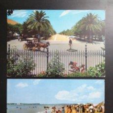 Postales: SANLUCAR DE BARRAMEDA, CÁDIZ 2 BONITAS POSTALES, ANGEL Y LUIS GARCÍA MARTINEZ. Lote 209277278