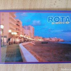 Postales: POSTAL ROTA (CÁDIZ) UN BALCÓN AL MAR CIRCULADA Y CON SELLO. Lote 209677373