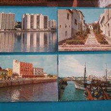 Postales: ALGECIRAS, CÁDIZ 4 POST. A. CAMPAÑA Y J. PUIG-FERRAN. Lote 209874776