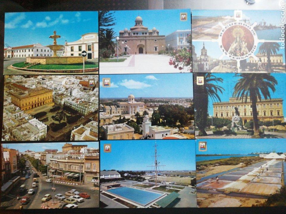 SAN FERNANDO, CÁDIZ. LOTE DE 9 POSTALES (Postales - España - Andalucia Moderna (desde 1.940))