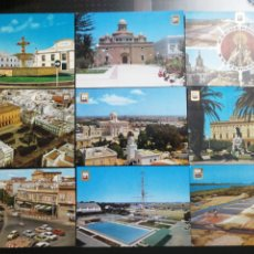 Cartes Postales: SAN FERNANDO, CÁDIZ. LOTE DE 9 POSTALES. Lote 209969787