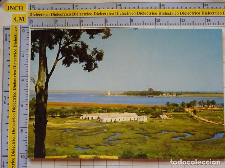 POSTAL DE HUELVA. AÑO 1963. PUNTA DEL SEBO. 2008 ARRIBAS. 857 (Postales - España - Andalucia Moderna (desde 1.940))