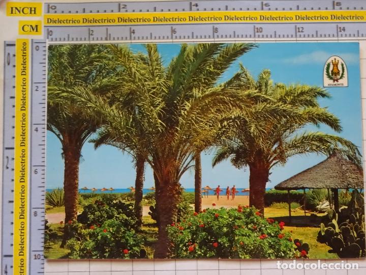 POSTAL DE HUELVA. AÑO 1975. AYAMONTE PLAYA ISLA CANELA. 8691 KIOSCO SAN JOSÉ. 859 (Postales - España - Andalucia Moderna (desde 1.940))