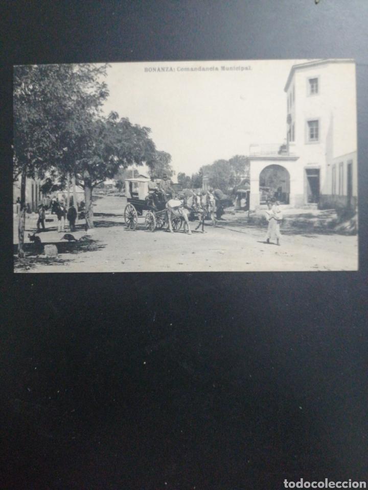 SANLUCAR DE BARRAMEDA, CÁDIZ. BONANZA, COMANDANCIA MUNICIPAL. SIN CIRCULAR (Postales - España - Andalucía Antigua (hasta 1939))