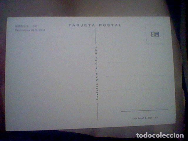 Postales: MARBELLA ED COSTA SOL Nº 342 S/C 15 X 10 CMS APROX PLAYA ANIMADA - Foto 2 - 210220925