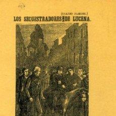 Postales: LOS SECUESTRADORES DE LUCENA. ED. PARÍS-VALENCIA, 1992.. Lote 210438166