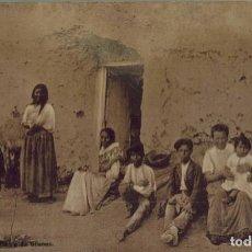 Postais: GRANADA. FAMILIA DE GITANOS. SIN CIRCULAR. Lote 210527113