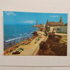 Postales: CIPIONA (CÁDIZ) SANTUARIO VIRGEN DE REGLA Y PLAYA Nº 2 EDICIONES ARRIBAS. Lote 210555540