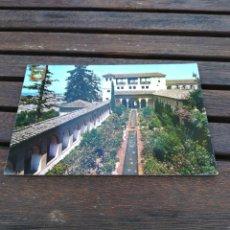 Postales: POSTAL 135 GRANADA PATIO DE LA ACEQUIA 1990. Lote 210584188