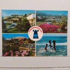 Postales: TORREMUELLE, BENALMADENA, COSTA, VISTAS PARCIALES URBANIZACIÓN TORREMUELLE, MONTERO. Lote 210592720