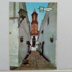 Postales: RECUERDO DE ESTEPONA, CALLE TÍPICA. Lote 210594020