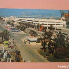 Postales: POSTAL DE ALGECIRAS. FUENTE Y ESTACIÓN DE FERRYS.. Lote 210771787