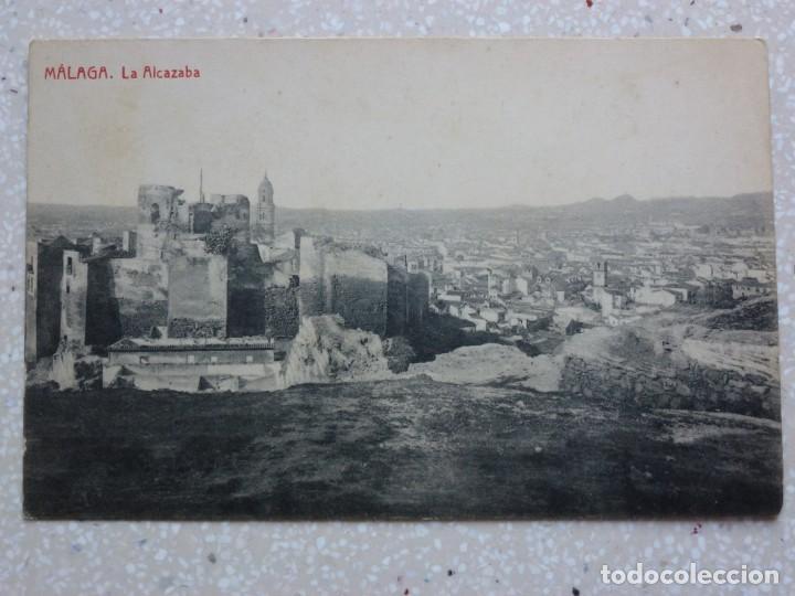 POSTAL MÁLAGA - LA ALCAZABA - THOMAS - 1913 - VER FOTOS (Postales - España - Andalucía Antigua (hasta 1939))