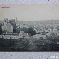 Postales: POSTAL MÁLAGA - LA ALCAZABA - THOMAS - 1913 - VER FOTOS. Lote 210963950