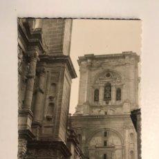 Postales: GRANADA POSTAL PORTADA DE LA CATEDRAL. EDIC. FOTOGRAFÍCAS HIJOS DE GALLEGO (H.1950?) ESCRITA.... Lote 211437735
