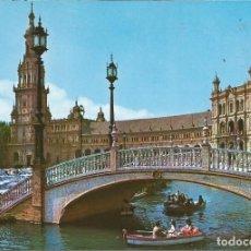 Postales: [POSTAL] PLAZA DE ESPAÑA. SEVILLA (SIN CIRCULAR). Lote 211455761