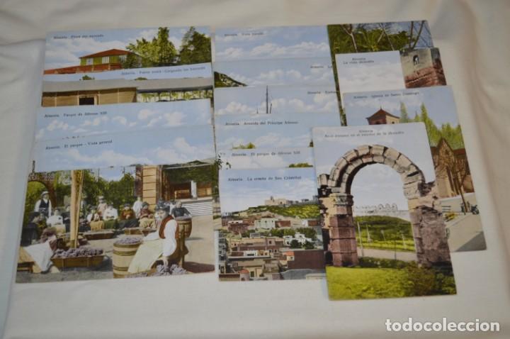 Postales: Lote variado 15 antiguas y difíciles postales - ALMERÍA / Papelería SEMPERE - Principios 1900 ¡Mira! - Foto 3 - 211659629