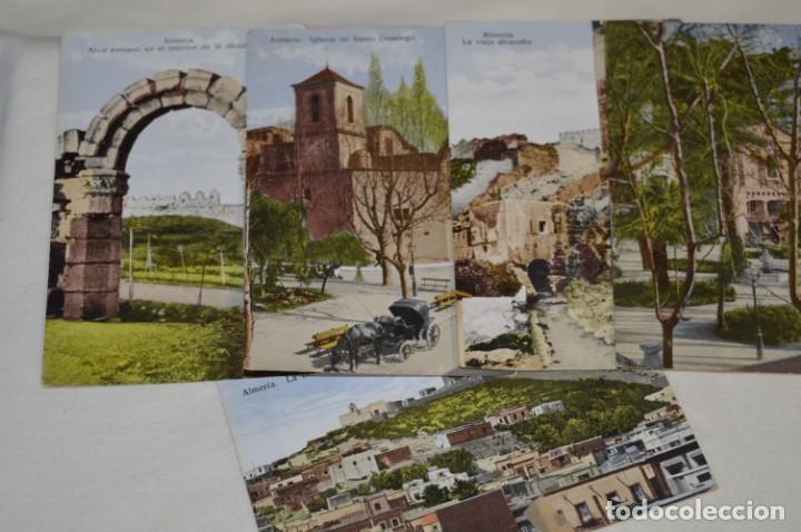 Postales: Lote variado 15 antiguas y difíciles postales - ALMERÍA / Papelería SEMPERE - Principios 1900 ¡Mira! - Foto 4 - 211659629