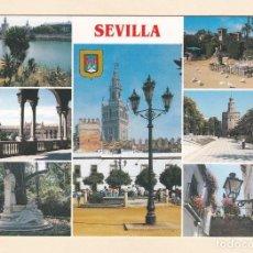Postales: POSTAL DIVERSOS ASPECTOS SEVILLA (1988). Lote 211699758