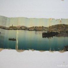 Postales: MALAGA-PANORAMA DESDE LA FAROLA-FOTOGRAFIA ANTIGUA-VER FOTOS-(V-21.505). Lote 212633241