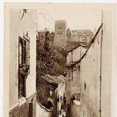 Postales: GRANADA. ALBAICIN, ALHAMBRA. L. ROISIN, FOTOGRAFO. SIN CIRCULAR. Lote 212907350