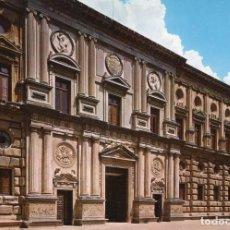 Postais: GRANADA - ALHAMBRA -PALACIO DE CARLOS V- (DOMINGUEZ Nº 56) SIN CIRCULAR / P-6725. Lote 212920835