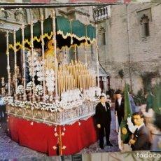 Postales: SEMANA SANTA SEVILLA , PALIO VIRGEN DEL ROCIO, BESO DE JUDAS, EDIT.DOMINGUEZ Nº188. Lote 213569890