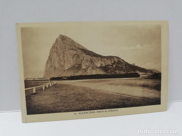 TARJETA POSTAL. ALGECIRAS. PEÑON DE GIBRALTAR. L. ROISIN. (Postales - España - Andalucía Antigua (hasta 1939))