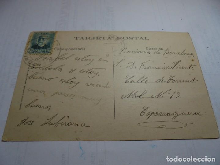Postales: magnifica postal antigua de cordoba plaza de sagasta - Foto 2 - 214737271